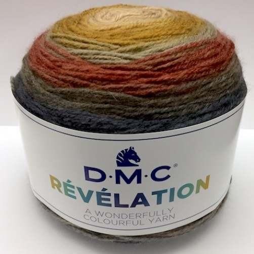 PROMO LANA DMC RÉVÉLATION 520mt MIX MARRONE N°205