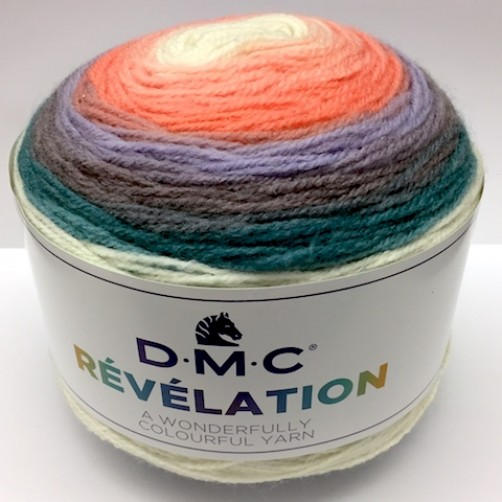 PROMO LANA DMC RÉVÉLATION 520mt MIX COLOR N°203