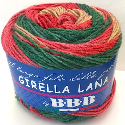 LANA MODA GIRELLA BBB 150gr MIX COLOR N°513