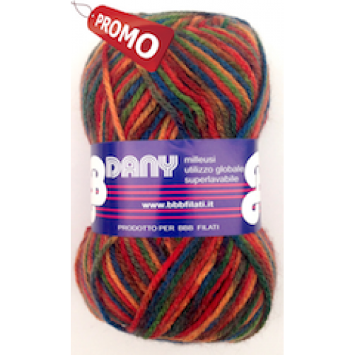 PROMO LANA DANY N°227 MIX COLOR 10Pz