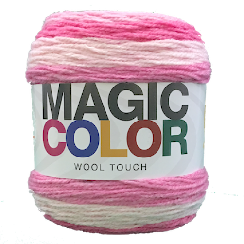 Gomitolo Lana Magic Color Wool Touch Mix Rosa n°106
