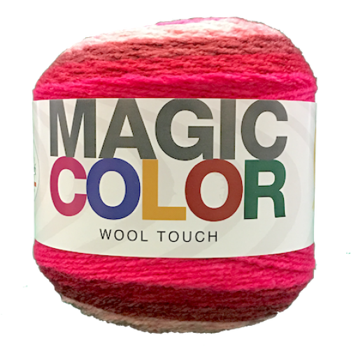 Gomitolo Lana Magic Color Wool Touch Mix Fuxia n°105