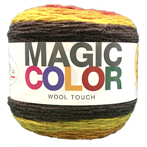 Gomitolo Lana Magic Color Wool Touch Mix Autunno n°114