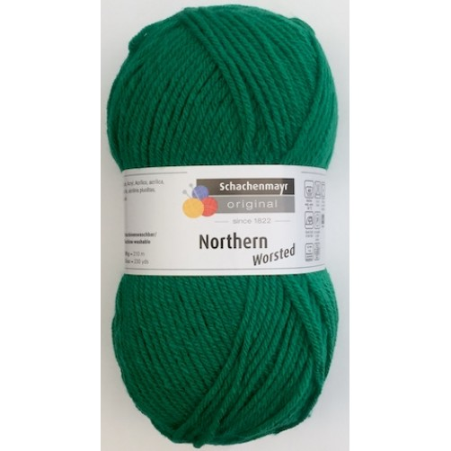 GOMITOLO LANA NORTHERN WOESTED COL VERDE BANDIERA N°238
