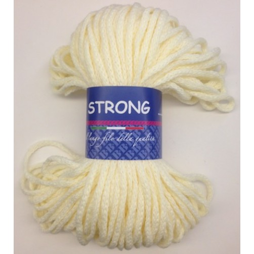"LANA TRICCOTTONE ""STRONG"" N°91 CREMA"