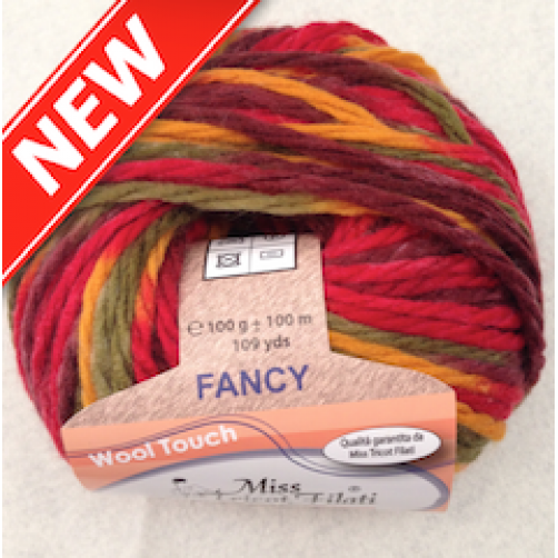 FANCY AMICO MIX ROSSO COL N°161