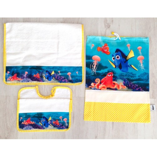 SET ASILO DISNEY PZ 3 DORY