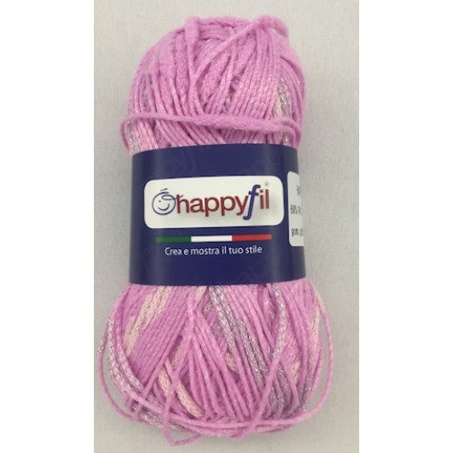 COTONE LAME' HAPPY CHIC ROSA COL N° 07
