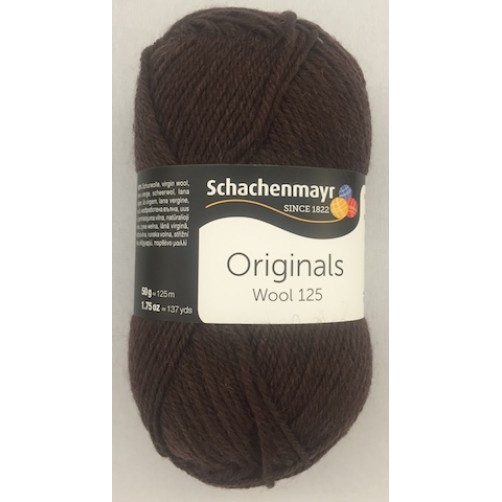 WOOL 125 MARRONE COL N°112