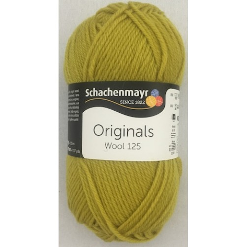 WOOL 125 VERDE ACIDO COL N°174