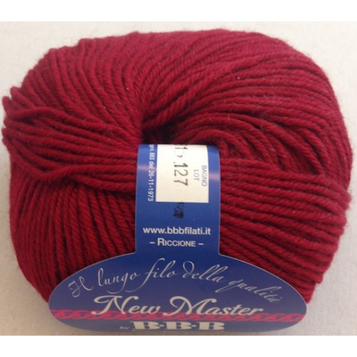 LANA NEW MASTER COL BORDEAUX N°7281