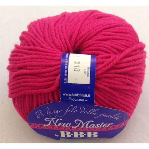 LANA NEW MASTER COL ROSA FLUO N°1374