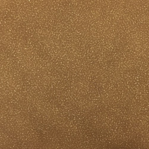 TULLE STRASS EFFECT ORO N°14