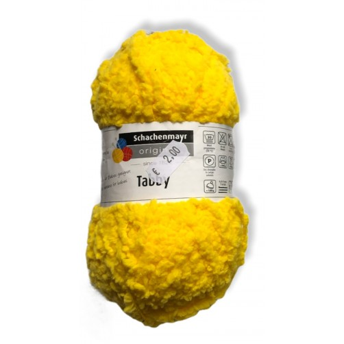 Gomitolo lana Tabbby 50g, giallo sole  n°22