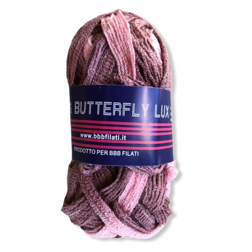 Gomitolo Big Butterfly 50g mix rosa antico n°58