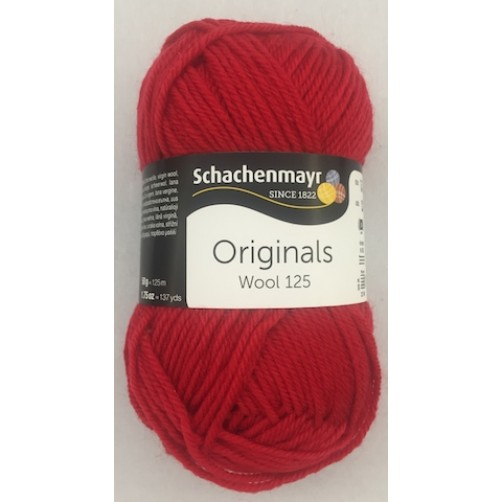WOOL 125 ROSSO COL N°131