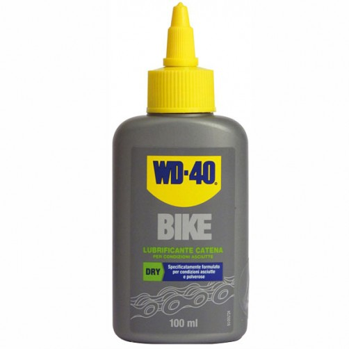 LUBRIFICANTE CATENE ASCIUTTO ml 100      BIKE WD40