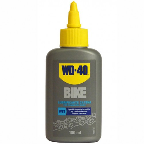 LUBRIFICANTE CATENE UMIDO ml 100         BIKE WD40
