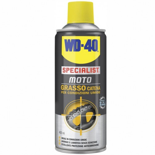 GRASSO CATENE SPRAY ml 400               MOTO WD40