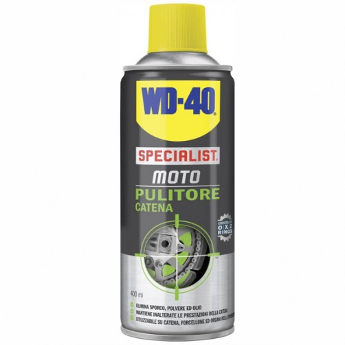 PULITORE CATENE SPRAY ml 400             MOTO WD40