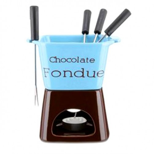 FONDUTA CIOCCOLATO CHOCOLATE         Set Pz. 8 EVA