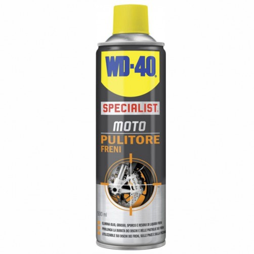 PULITORE FRENI SPRAY ml 500        SPECIALIST WD40