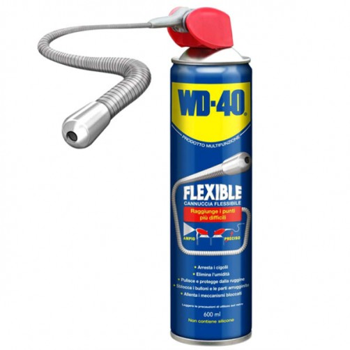 LUBRIFICANTE SPRAY ml 600 FLEXIBLE            WD40