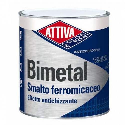 SMALTO FERROMICACEO 0,75 11 NATURAL BIMETAL ATTIVA