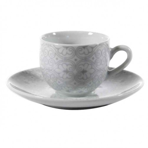 TAZZA CAFFE PORCELLANA DAMASCO   Pz 6 PASSIONECASA