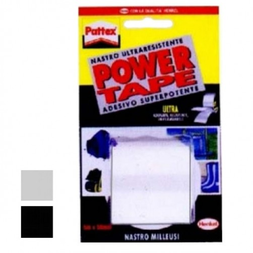 NASTRO POWER TAPE mm 50 m  5  BIANCO        PATTEX