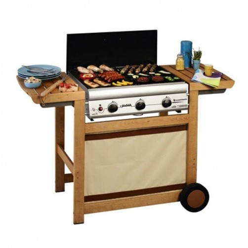 BARBECUE ADELAIDE WOODY     128x59 h  88 CAMPINGAZ