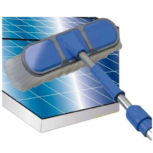 SPAZZOLONE PANNELLI FOTOVOLTAICI KIT    SOLAR WASH