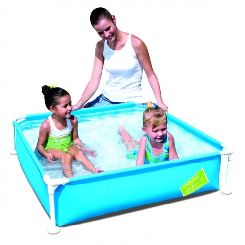 PISCINA FIRST FRAME POOL Q.TA   122x122 h 30 BESTW
