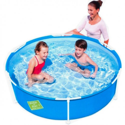 PISCINA FIRST FRAME POOL TONDA      152 h 38 BESTW