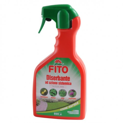 DISERBANTE AZIONE SISTEMICA SPRAY ml 500      FITO