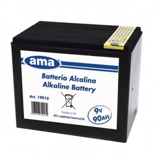 BATTERIA ELETTRIFICATORI RANCH V9 AH90