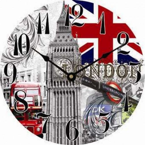 OROLOGIO MURO LONDON                    cm 30 XTRA
