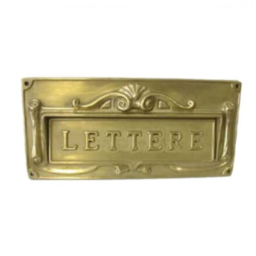 BUCA LETTERE GHISA        mm 300x140  SICURO 00267