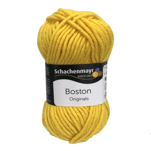 Gomitolo Lana Boston Originals 50gr Giallo n°123