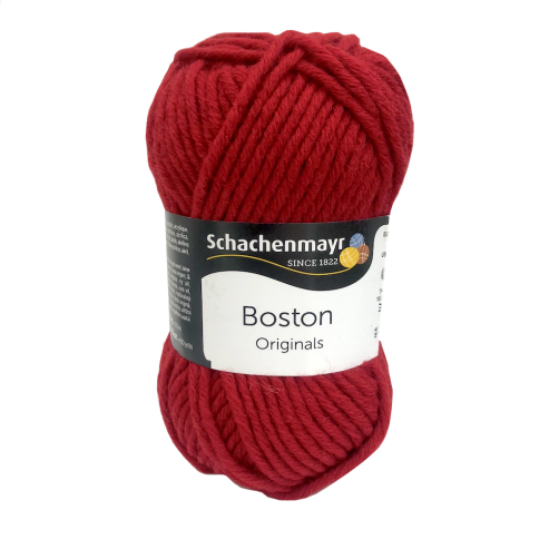 Gomitolo Lana Boston Originals 50gr Rosso n°31