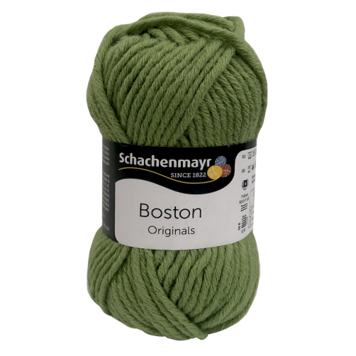 Gomitolo Lana Boston Originals 50gr Verde Muschio n°71