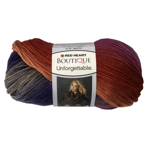 Gomitoli Red Heart Boutique Unforgettable 100g Mix Color n°3967
