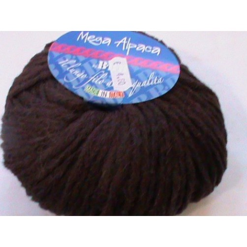 MEGA ALPACA 110 MARRONE SCURO
