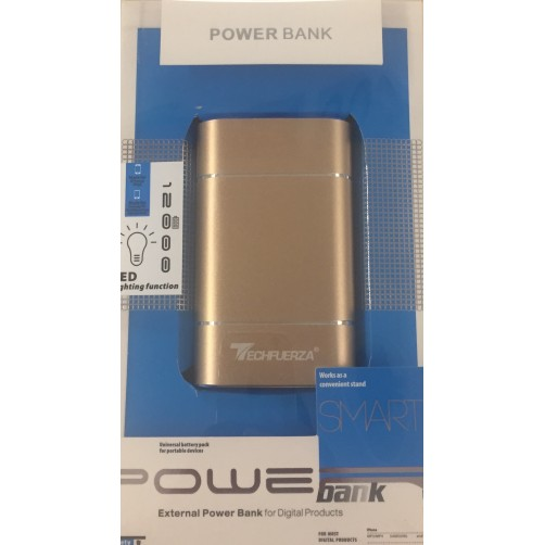 Carica Batteria Esterma Led Universale 12000 Mah Smart  Power Bank 3 Colori Disponibili