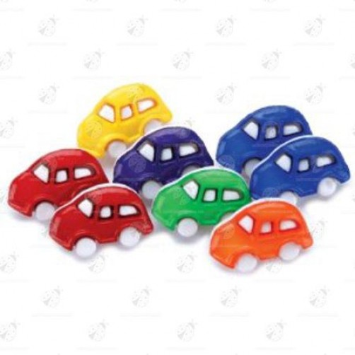 "Stock Bottoni ""Cars"" 7 pezzi"