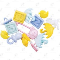 "Stock Bottoni ""Baby Shower"" 13 pezzi"
