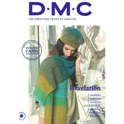 DMC Rèvèlation 3 Modelli (Wonder Yarn Collection)