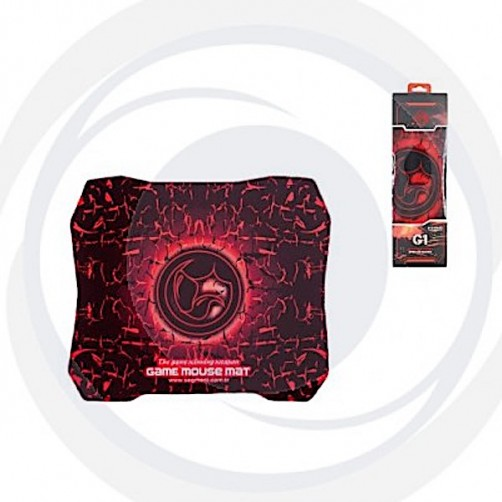 Marvo Tappetino Mouse Pad Dimensione 287x 244 mm colore Rosso G1