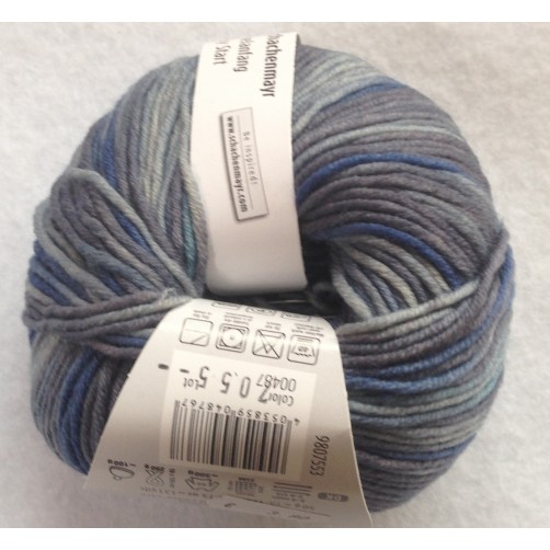 Gomitolo Lana Merino Extrafine 50g Mix Color n°487