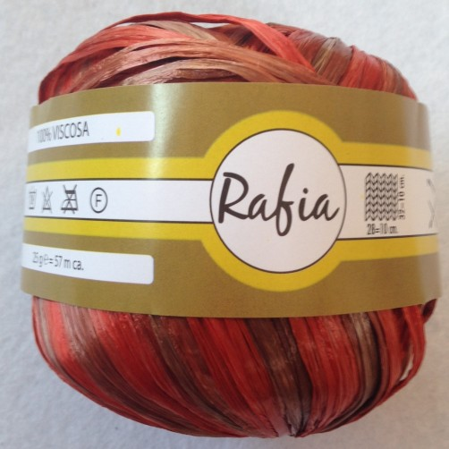 RAFIA 100%VISCOSA MIX MARRONE COCCIO N°3106